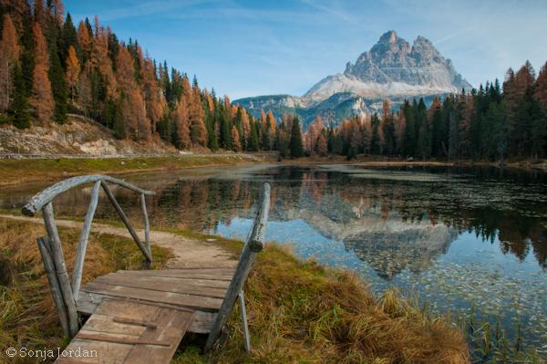 Lago d'Antorno, Naturpark 3 Zinnen, Dolomiten, Südtirol