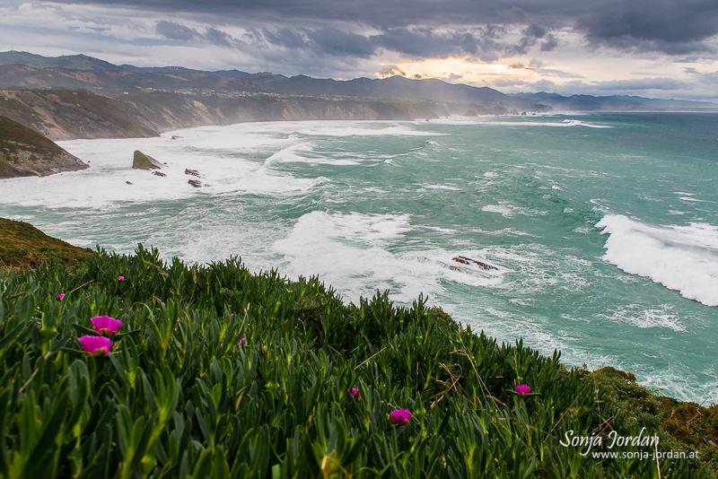 Cabo Vidío, Golf von Biskaya, Provinz Asturien, Spanien