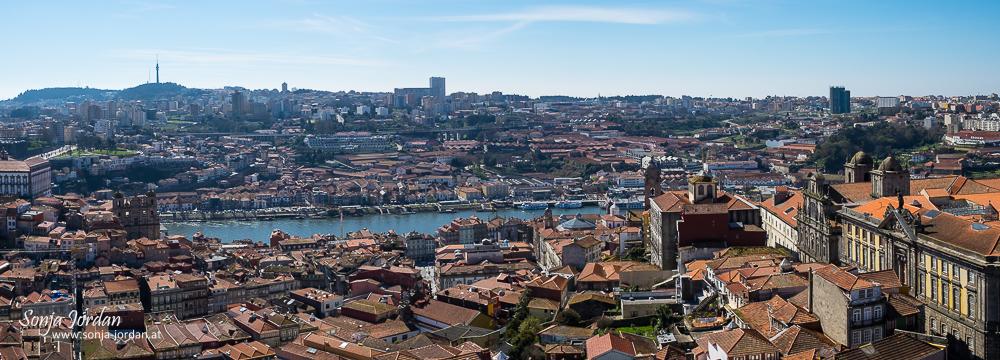 Panoramablick über die Stadt Porto, UNESCO Weltkulturerbe, Portugal, Europa