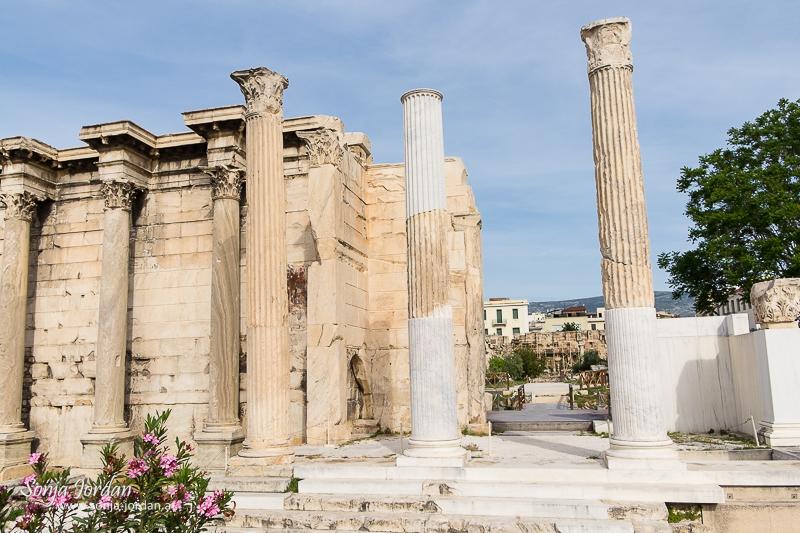 Hadriansbibliothek, Altstadt, Plaka, Athen, Griechenland