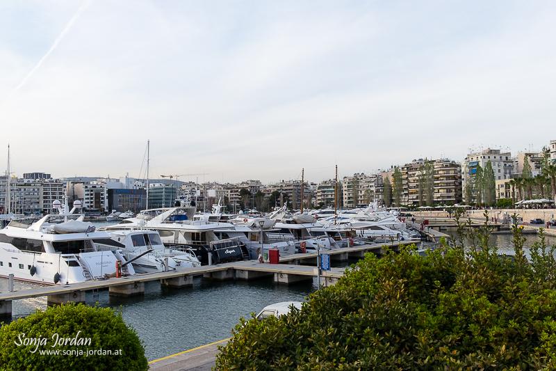 Boote im Hafen, Pasa-Limani, Athen, Griechenland