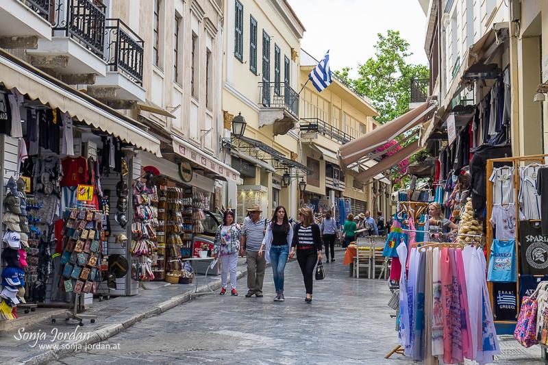 Altstadt, Plaka, Athen, Griechenland
