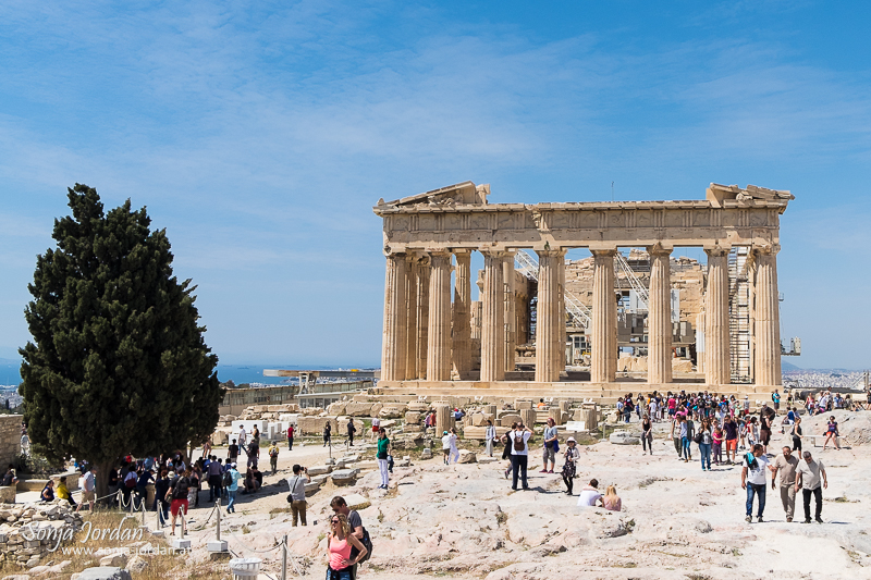 Parthenon Tempel, Akropolis, Athen, Griechenland