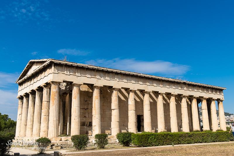 Tempel des Hephaistos, Agora von Athen, Griechenland