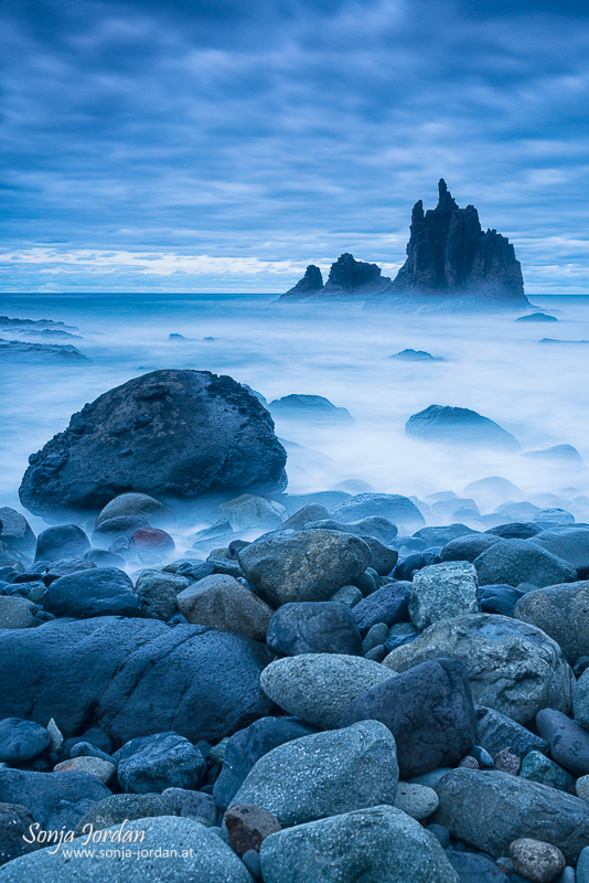 Playa de Benijo, Taganana, Anaga-Gebirge, Kanarische Inseln, Teneriffa, Spanien