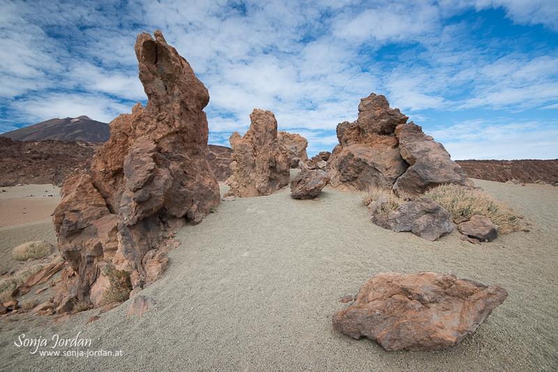 Minas de San Jose Sur, Nationalpark Teide, Kanarische Inseln, Teneriffa, Spanien