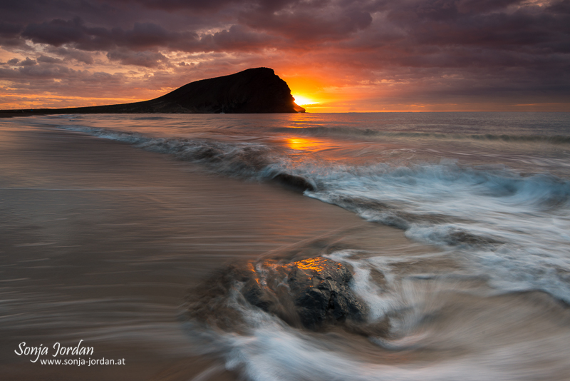 Playa de la tejita, La Tejita beach, Kanarische Inseln, Teneriffa, Spanien