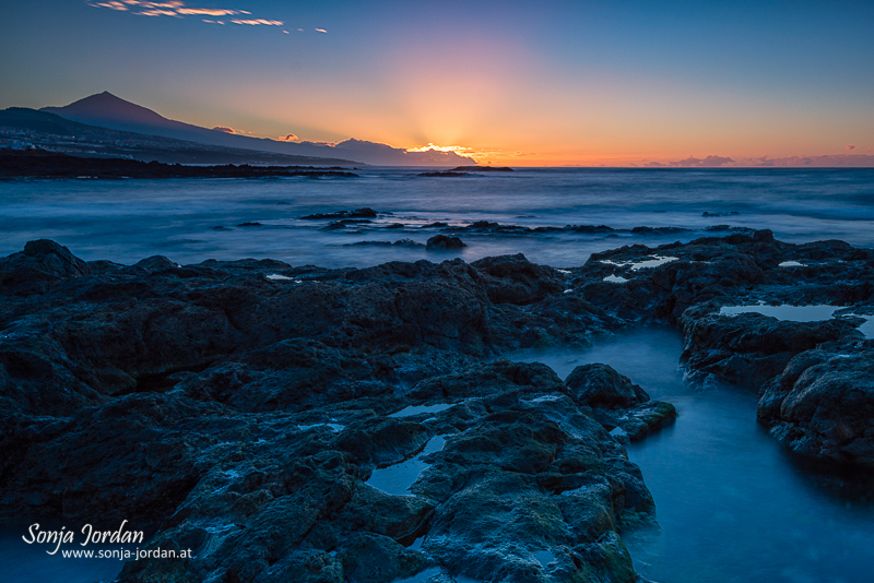 Punta de Hidalgo, Kanarische Inseln, Teneriffa, Spanien