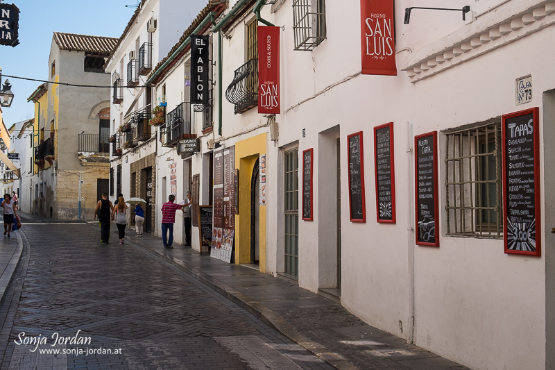 Alleyway, old town, Cordoba, Andalusia, Spain