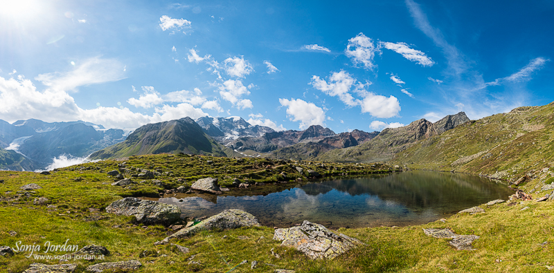 Seelessee mit Gespatschgletscher, Kaunertal, Kaunertaler Gletscherstraße, Tirol, Österreich