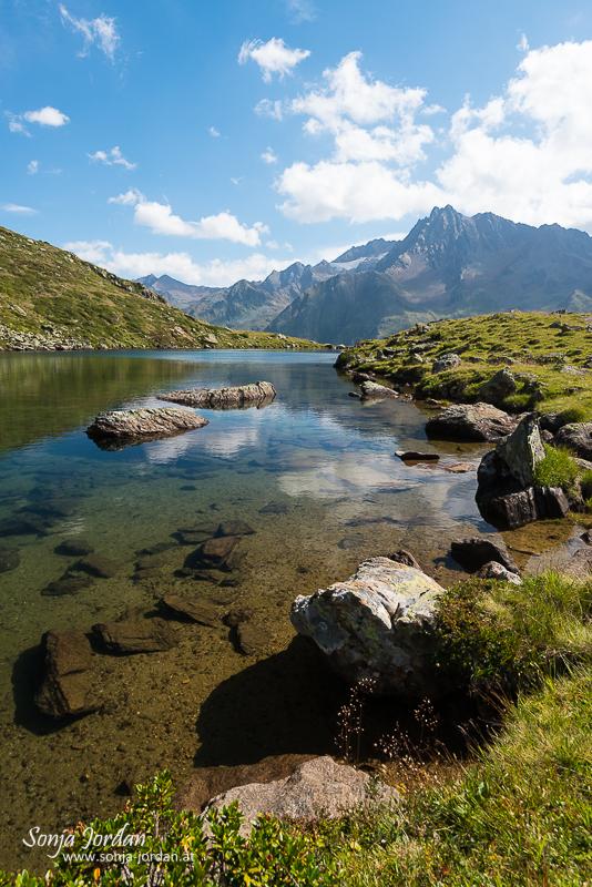 Seelessee, Kaunertal, Kaunertaler Gletscherstraße, Tirol, Österreich