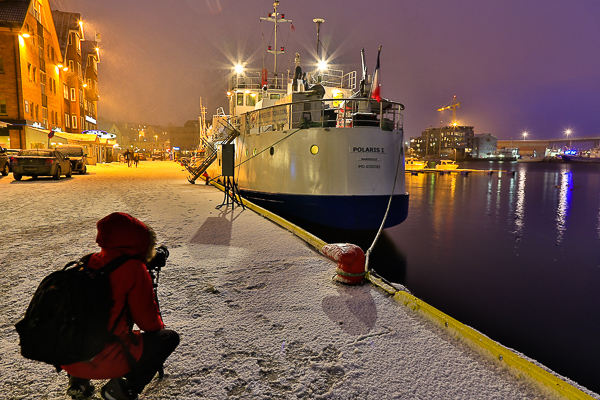 Abend in Tromsö