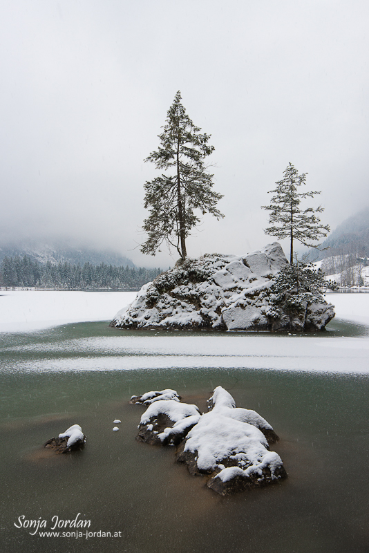 Ein Wintertag in Berchtesgaden