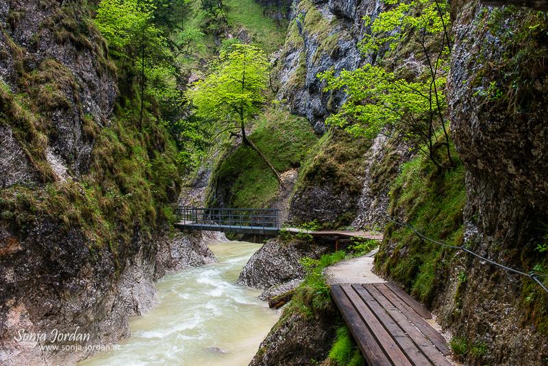 Unterwegs in Berchtesgadener Klammen