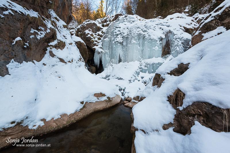 Winterimpressionen vom Mixnitzbach