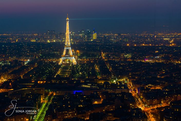 Paris, copyright Tour Eiffel – illuminations Pierre Bideau
