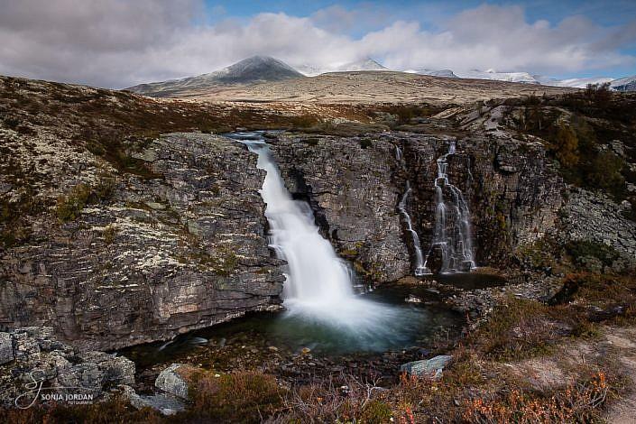 Wasserfall Storulfossen
