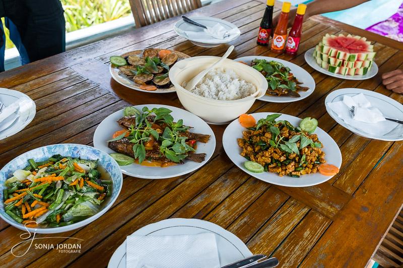 Indonesische Spezialitäten zu Mittag