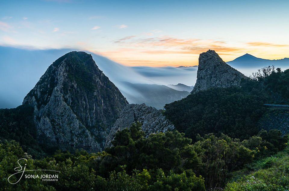 Ein herrliches Naturschauspiel wenn der Nebel am Morgen über die Berge weht.