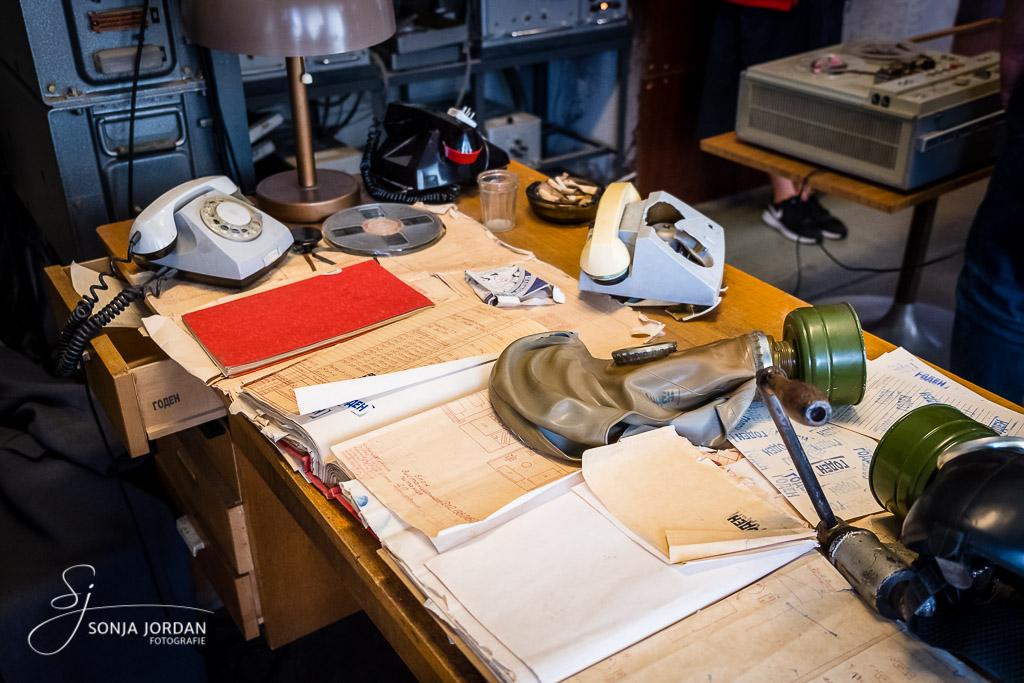 Verlassener Schreibtisch
