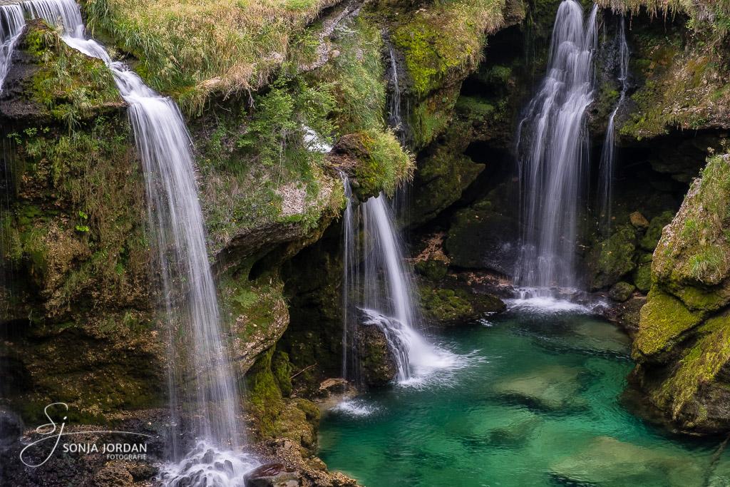 Wasserfall am Traunfall