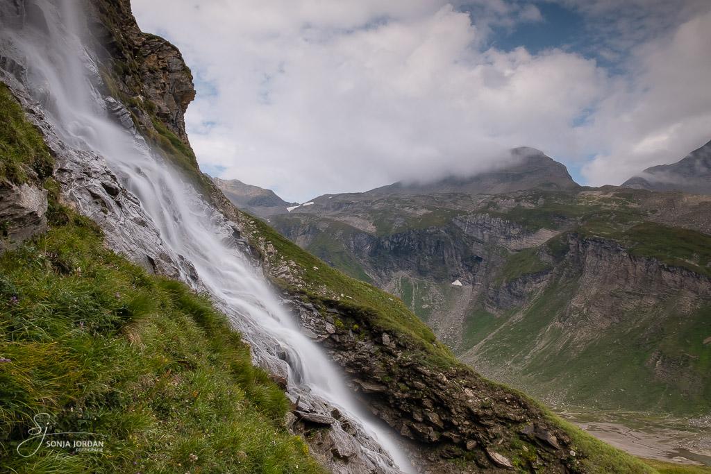 Wasserfall an der Hochalpenstraße