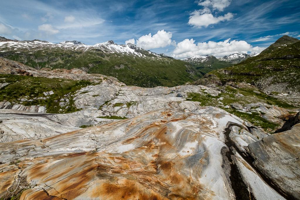 Gletscherschliff des Schlatenkees